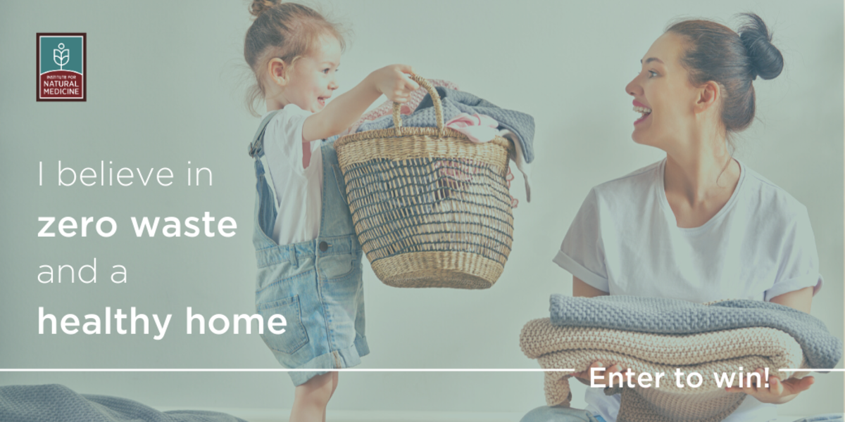 Enter to Win 1 of 3 Bundles of Natural Laundry Supplies