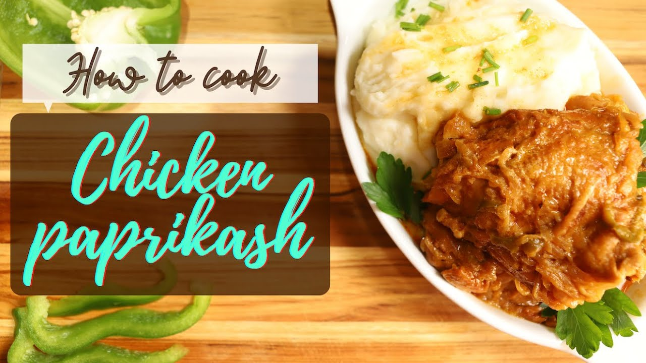 How to make the best Chicken Paprikash | One-pot meal |HOMEMADE | EASY | Cooking from scratch!