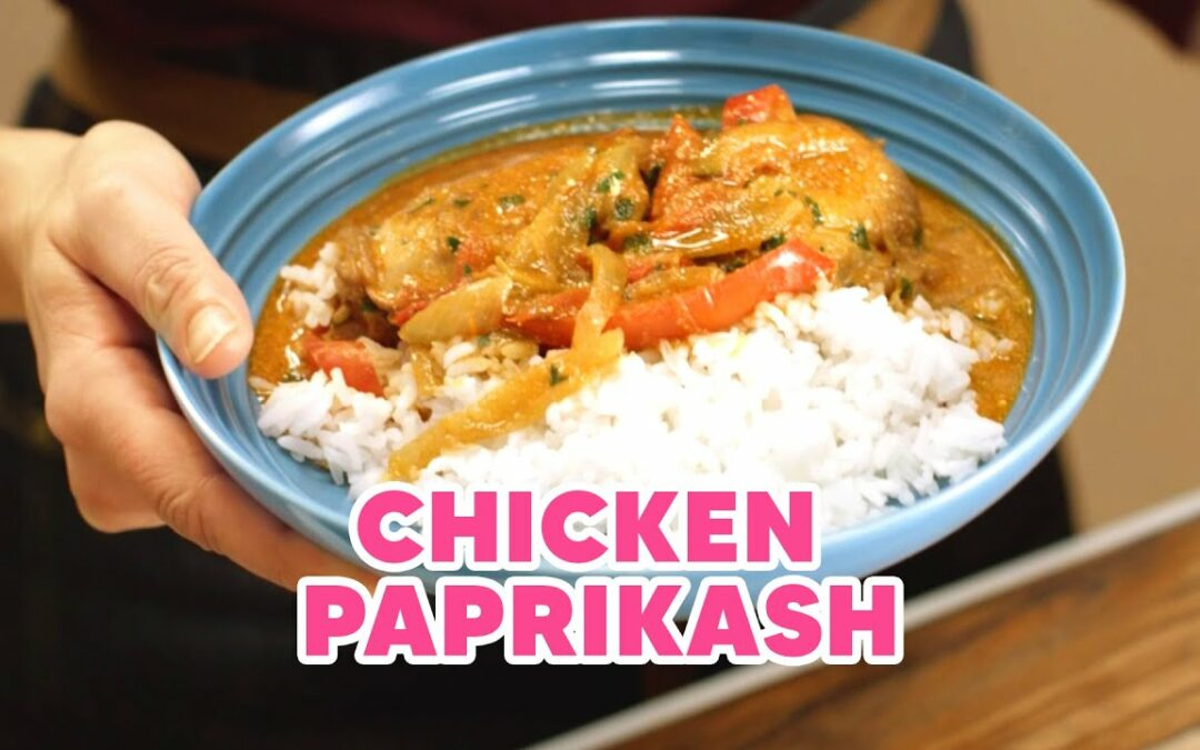 Chef Anna Olson's Chicken Paprikash Recipe, Inspired by Singapore!