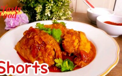 #Shorts paprikash chicken l chicken stew with paprika.-Hungarian Food l Tasty Food
