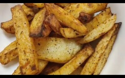 Homemade Paprika Fries – In The Airfryer