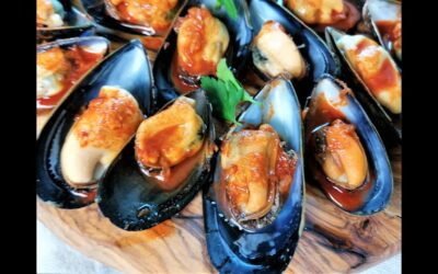 How to make Mussels with garlic and paprika