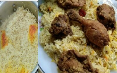 KFC Style  Chicken With  Paprika Rice Best Combo For Iftar Recipe