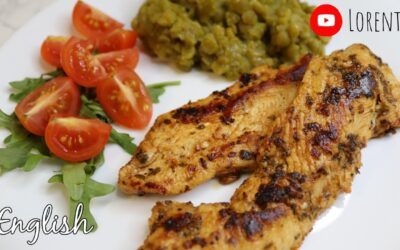 Chicken breast with paprika and lemon juice I Lorentix