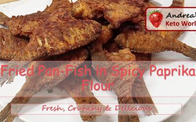 Fried Pan Fish in Spicy Paprika Flour – in Hungarian Style