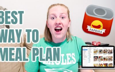 MEAL PLANNING AS A WORKING MOM USING THE PAPRIKA APP FULL TUTORIAL